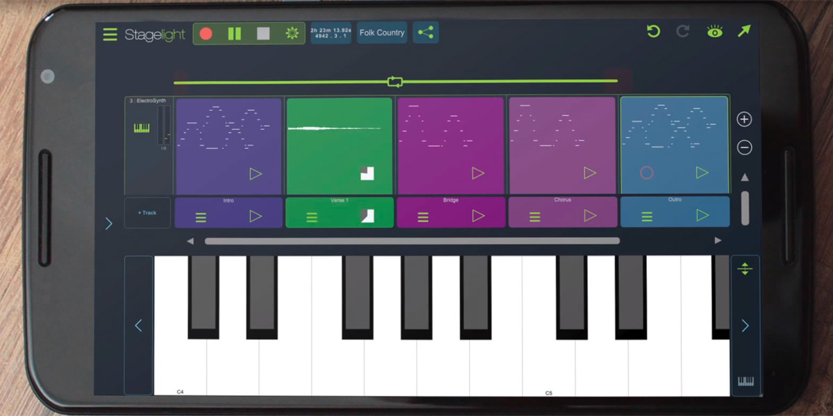 Stagelight teaches you how to make music on your Android phone