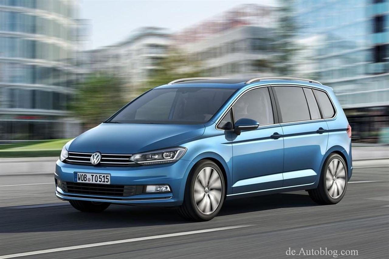 Premiere in Genf: Der neue VW Touran 2016