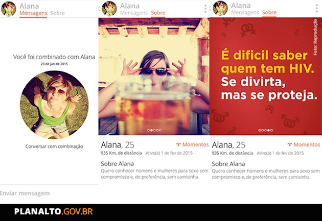 Brazil used Tinder bots to promote AIDS awareness