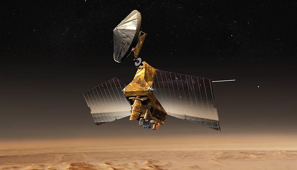 Mars Orbiter gets ready for InSight Lander's touchdown