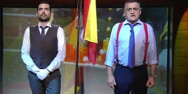 La firma de moda Álvaro Moreno deja de prestar ropa a 'El Intermedio' tras el 'sketch' de Dani Mateo
