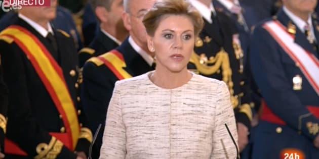 Cospedal: No hay particularismo capaz de quebrar a España