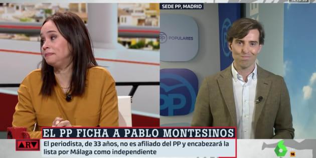 Una periodista rompe a llorar en 'Al Rojo Vivo' tras las palabras de despedida de Pablo Montesinos