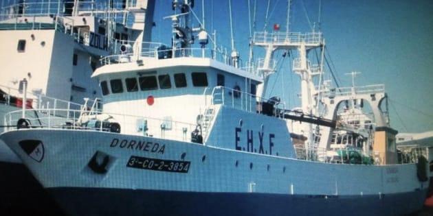 Un muerto y un desaparecido tras naufragio de un pesquero español en Argentina