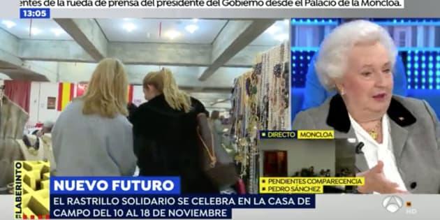 La pregunta personal en 'Espejo Público' que no ha sentado nada bien a la tía de Felipe VI