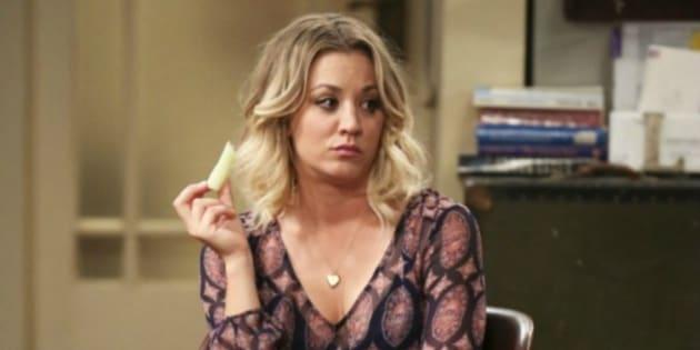 Kaley Cuoco arrasa con una escena de 'The Big Bang Theory' que nunca antes habías visto en pantalla