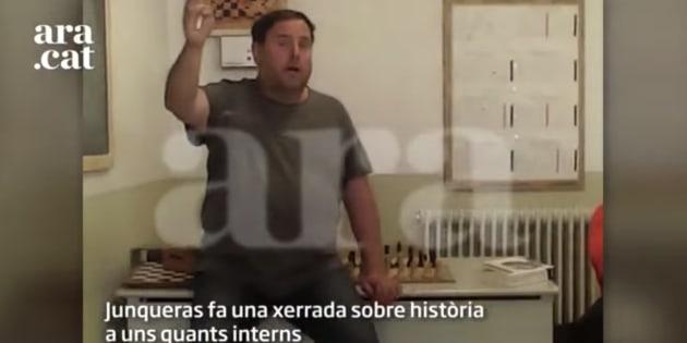 Junqueras y Romeva denuncian al preso que les grabó en la cárcel