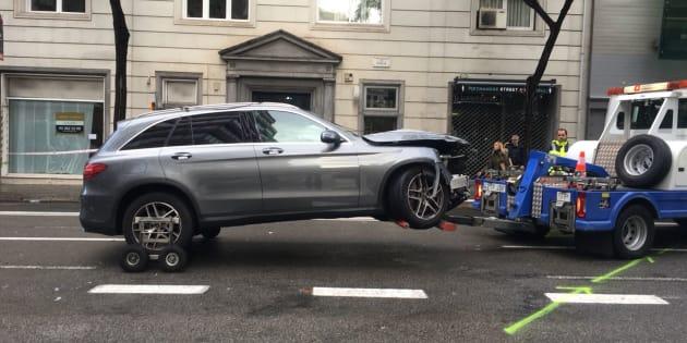 Un conductor pierde el control y embiste a varias personas en Barcelona