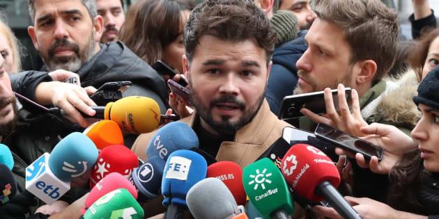 La respuesta viral de Rivera a Rufián tras afirmar que Junqueras seguirá en prisión porque ganó el 21-D