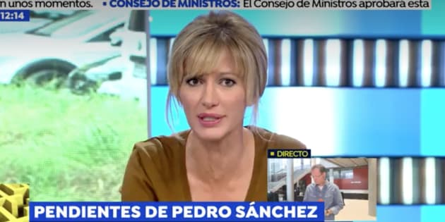 Susanna Griso, espantada por las palabras de un invitado de 'Espejo Público' sobre el francotirador que planeaba matar a Pedro Sánchez