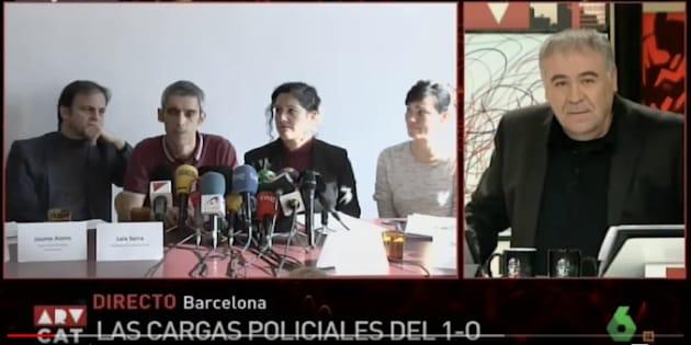 Duras críticas de Ferreras a RNE por lo que no ha contado la radio pública esta mañana