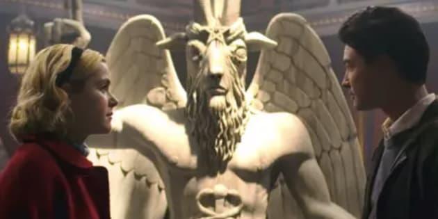 Una organización satánica pide a Netflix 150 millones por plagiarles una estatua