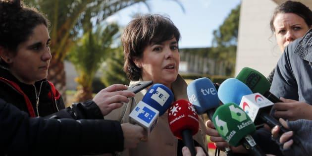 La advertencia del PSOE a Sáenz de Santamaría tras fichar por Cuatrecasas