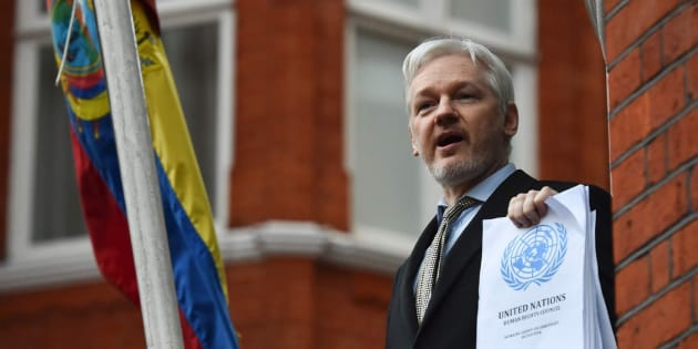 Ecuador busca que alguien resuelva la insostenible reclusión de Assange en su embajada en Londres