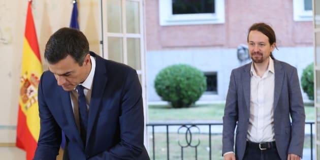 Pedro Sánchez y Pablo Iglesias alcanzan un pacto para los Presupuestos 2019