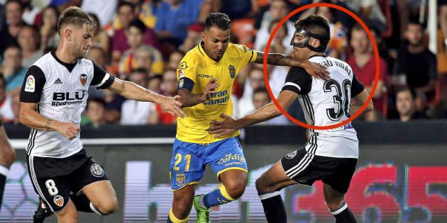 El detalle por el que este jugador del Valencia ha generado bromas en Twitter
