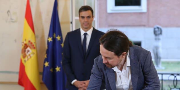 Lo que significa políticamente el acuerdo entre Sánchez e Iglesias