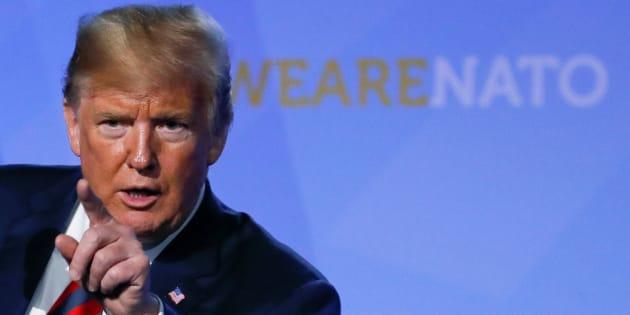 Trump asegura que los aliados de la OTAN se han comprometido a gastar más del 2% en defensa
