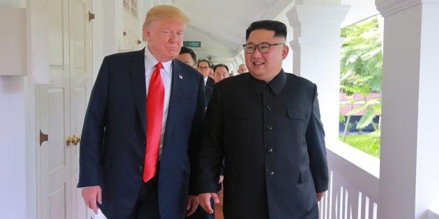 kim trump entre reunión mejor jong-un encuentro