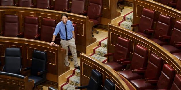 Montero defiende el trabajo coral de Podemos ante la ausencia de Iglesias