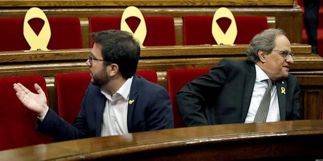 La fractura entre ERC y JxCAT deja al independentismo sin mayoría en el Parlament
