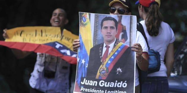 Guaidó agradece a Sánchez y a su Gobierno su reconocimiento y su apoyo a la ruta de lucha por la democracia