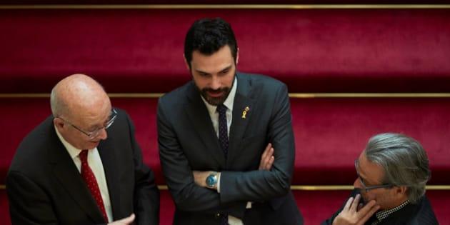 Torrent aplaza el Pleno de investidura de Jordi Sánchez y propondrá querellarse contra Llarena
