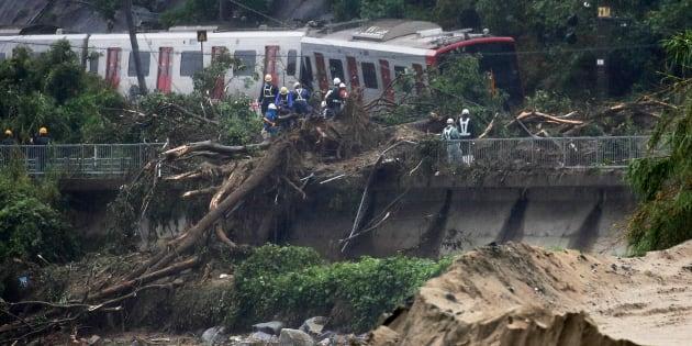 Al menos 38 muertos y 50 desaparecidos en Japón por las lluvias torrenciales