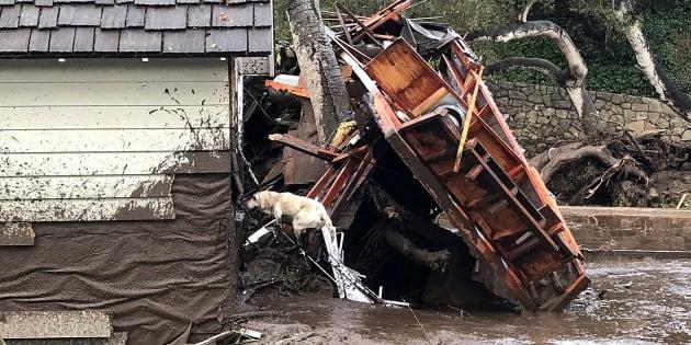 Al menos 13  muertos y 25 heridos por las fuertes inundaciones en California