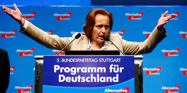 Denunciada por un tuit islamófobo la vicepresidenta del partido ultra Alternativa para Alemania