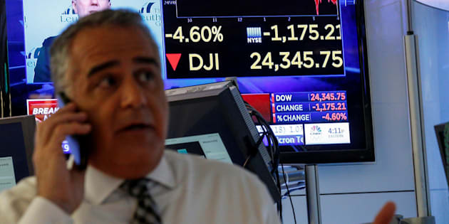 Wall Street sufre un segundo batacazo histórico en una semana