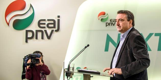 """El PNV se niega a negociar los presupuestos por la """"situación política"""""""