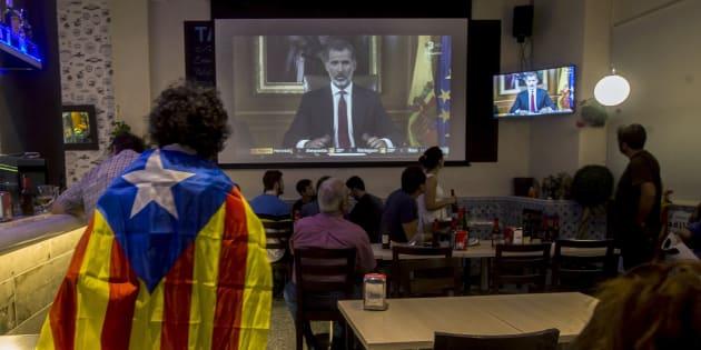 rey cataluña felipe han palabras puigdemont