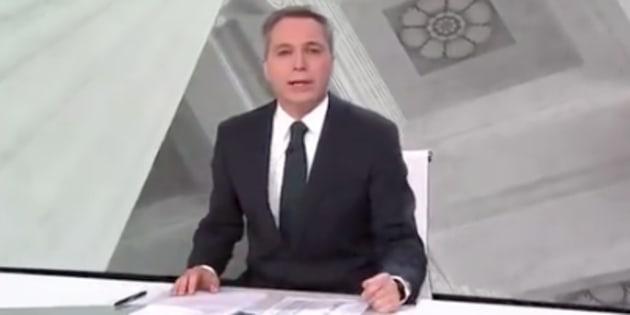 Vicente Vallés sorprende al empezar Antena 3 Noticias 2 con esta rotunda frase