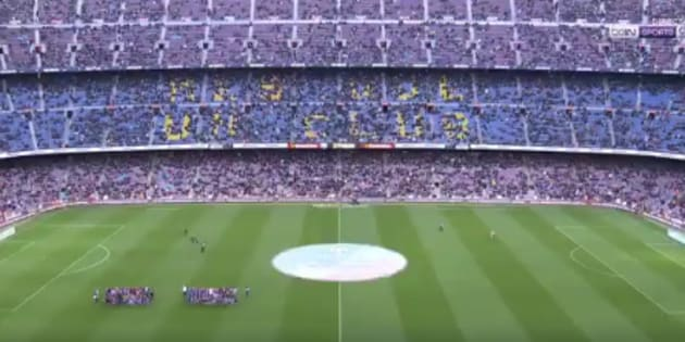 Multitud de comentarios por lo que todo el mundo ha visto antes del Barça-Levante