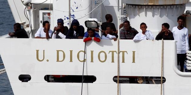 italia inmigrantes barco gobierno italiano salvini estas diciotti