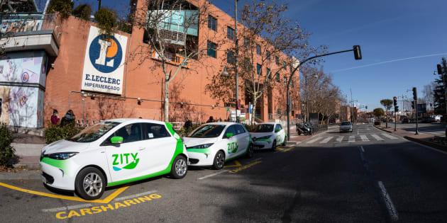 Los coches compartidos de Zity salen, por primera vez, de Madrid