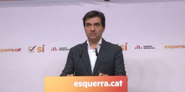 ERC admite que el Govern no estaba preparado para hacer efectiva independencia