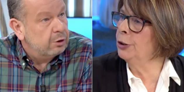 Rifirrafe en directo entre Chicote y una concejal de Ahora Madrid en 'Espejo Público': Me la voy a comer