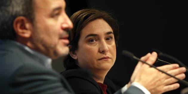 La tensa reunión entre Colau y Collboni: el PSC no apoyará los presupuestos municipales
