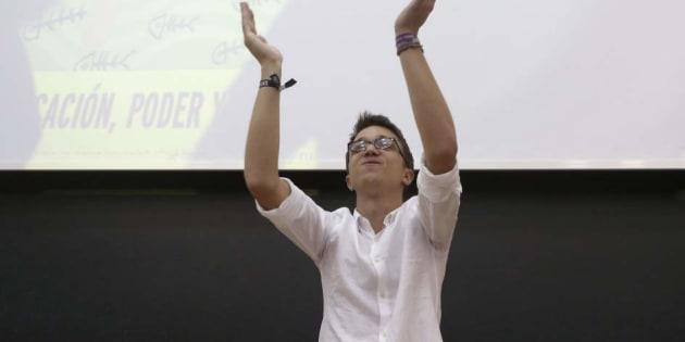 Iglesias apoya el modelo de primarias de Errejón: elegir a la vez candidato y conjunto de lista