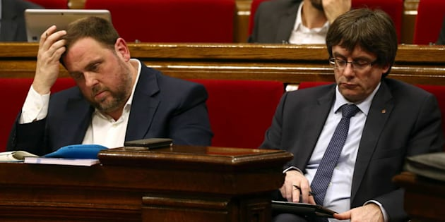Junqueras tumba los argumentos de Puigdemont al considerar que no se puede ser president a distancia