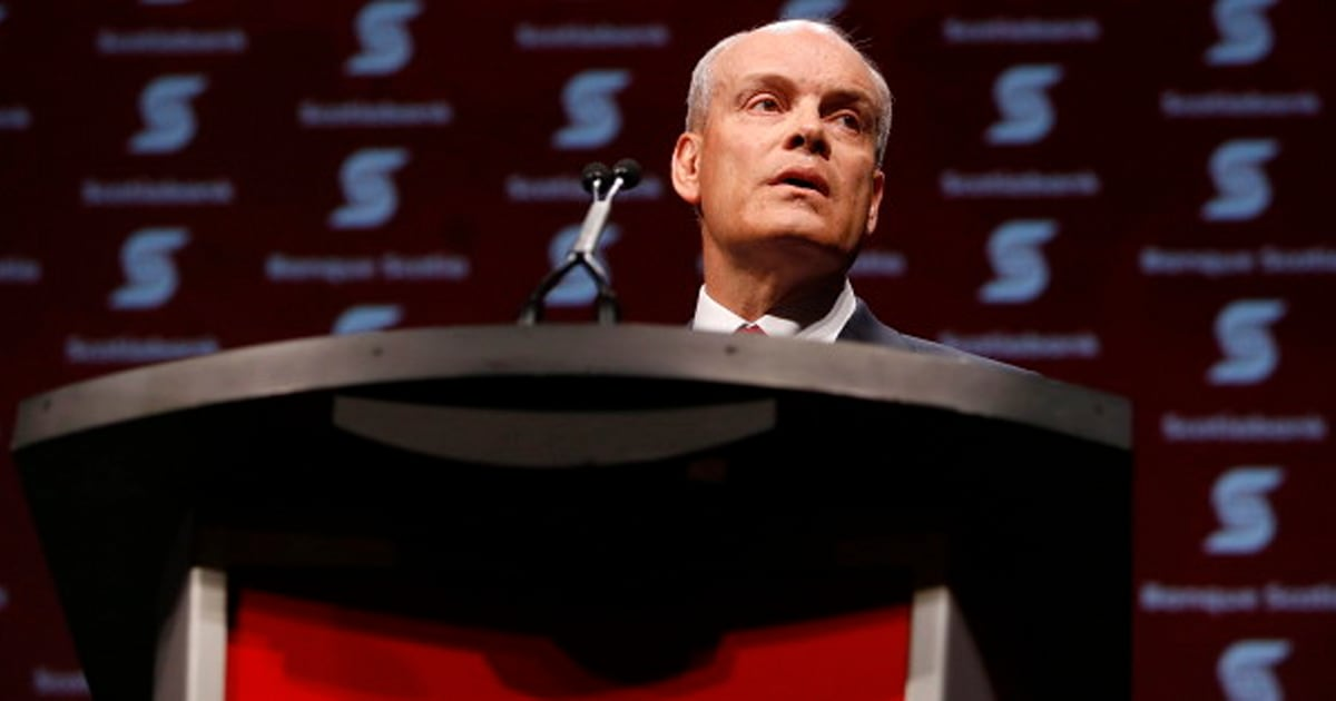 Scotiabank chief executive officer list
