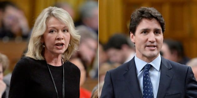 Image result for candice bergen justin trudeau exchange