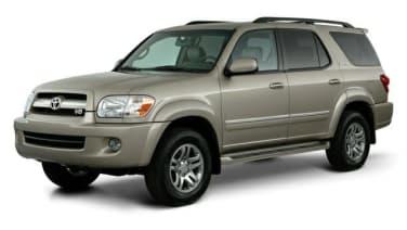 2005 Nissan Armada vs 2005 Toyota Sequoia  Overview
