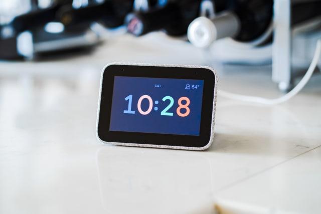 Lenovo smart clock on sale walmart target