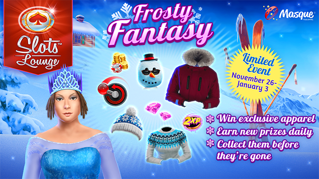 Frosty Fantasy at Slots Lounge