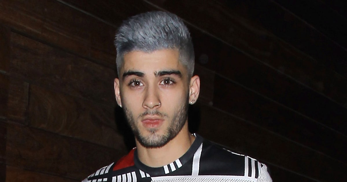 Zayn Malik Goes Grey But WHY Weve Worked Out What The Former - Zayn malik hairstyle facebook
