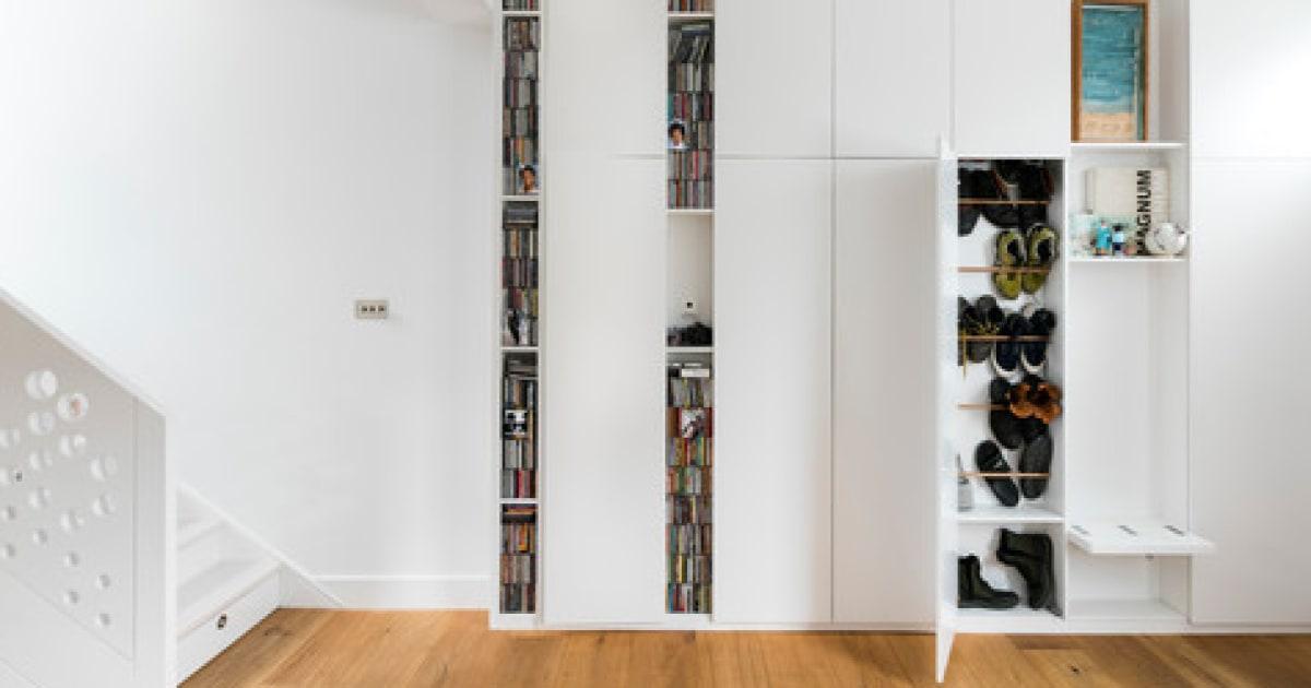 10 ideen wie sie im eingang ordnung schaffen. Black Bedroom Furniture Sets. Home Design Ideas