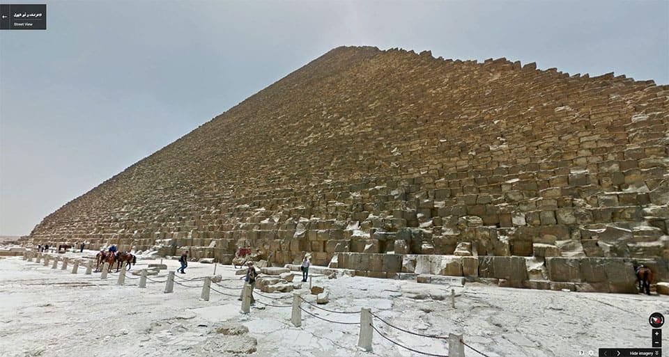Stroll Through Egypts Pyramids On Google Street View